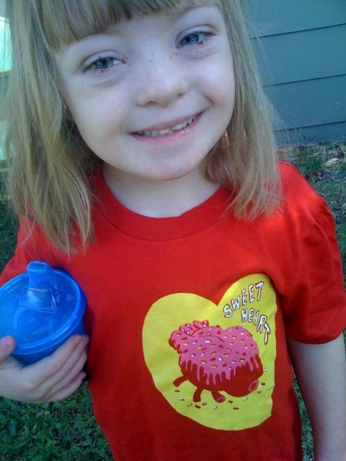 sophie heart shirt